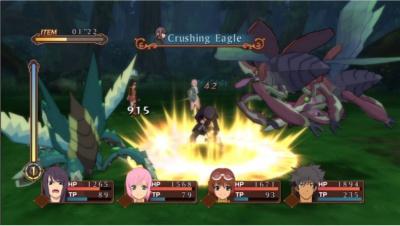 Tales of Vesperia - gameplay